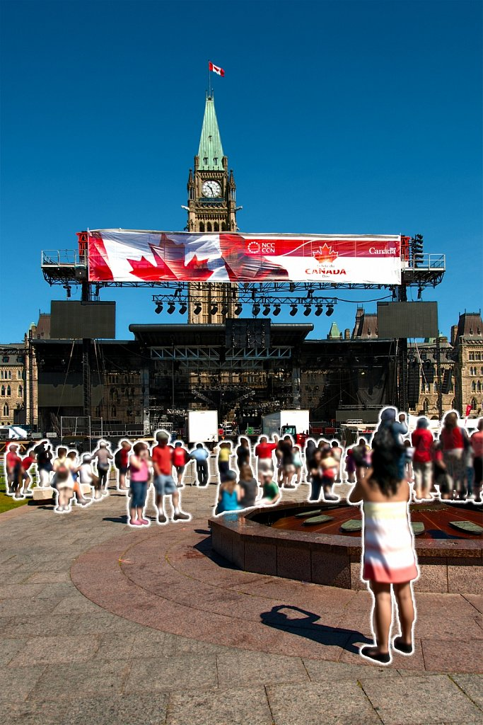 July 2nd at Parliament Hill - 2010