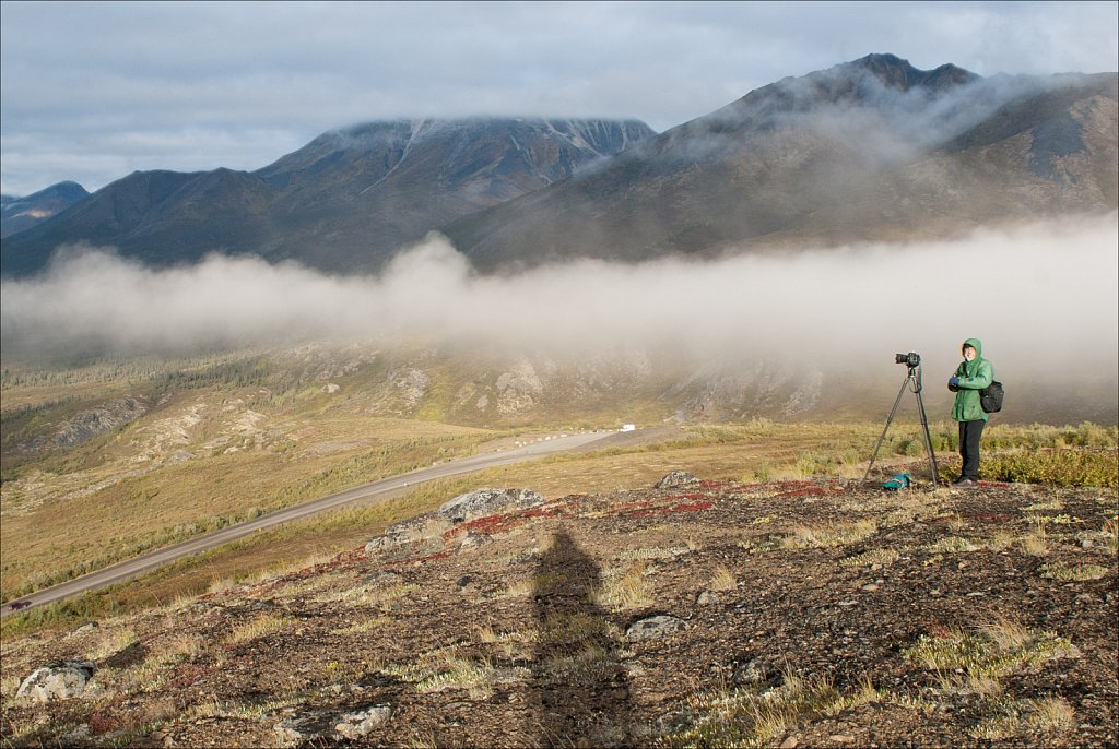 Two Photographers, Yukon Territory, 2010