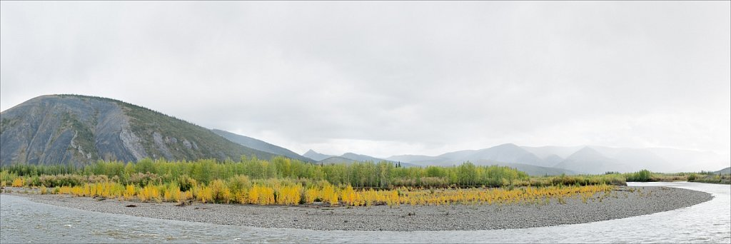 Ogilvie River Curve, Yukon Territory, 2010