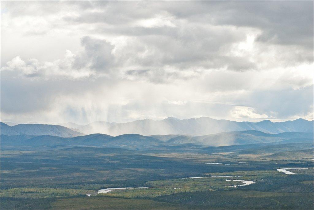 Curtain Rain, Yukon Territory, 2010